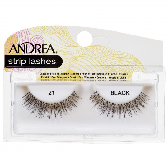 Andrea Mod Strip Lashes - 21 Black