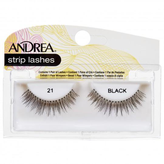 Andrea Mod Strip Lashes - 21 Black