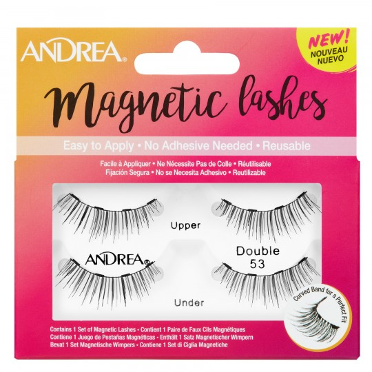 Andrea Magnetic Lashes - Double 53