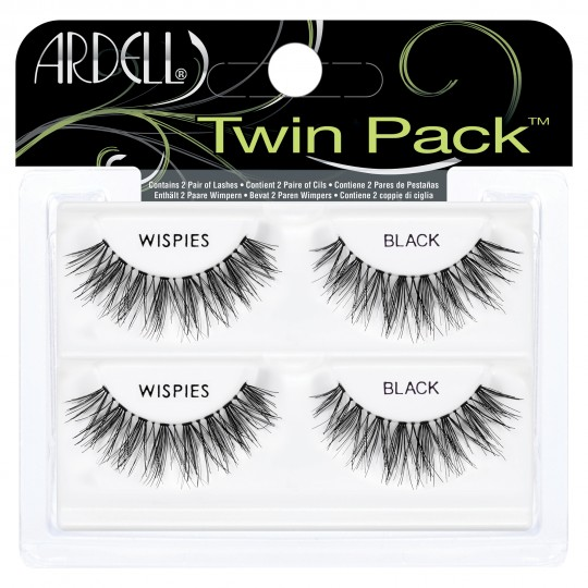 Ardell Twin Pack Lashes - Wispies Black