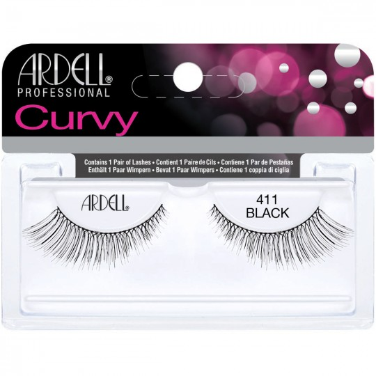 Ardell Curvy Lashes - 411 Black