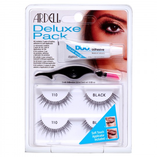 Ardell Deluxe Pack Lashes - 110 Black