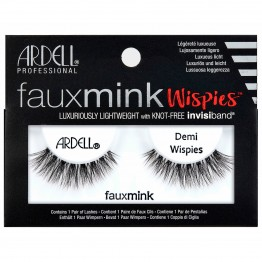 Ardell Faux Mink Lashes - Demi Wispies Black