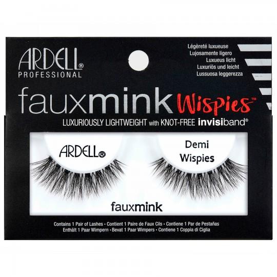 Ardell Faux Mink Lashes - Demi Wispies Black