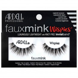 Ardell Faux Mink Lashes - Wispies Black