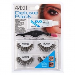 Ardell Deluxe Pack Lashes - Wispies Black