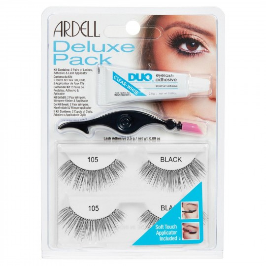 Ardell Deluxe Pack Lashes - 105 Black