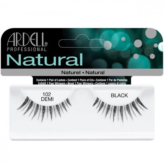 Ardell Natural Lashes - 102 Demi Black