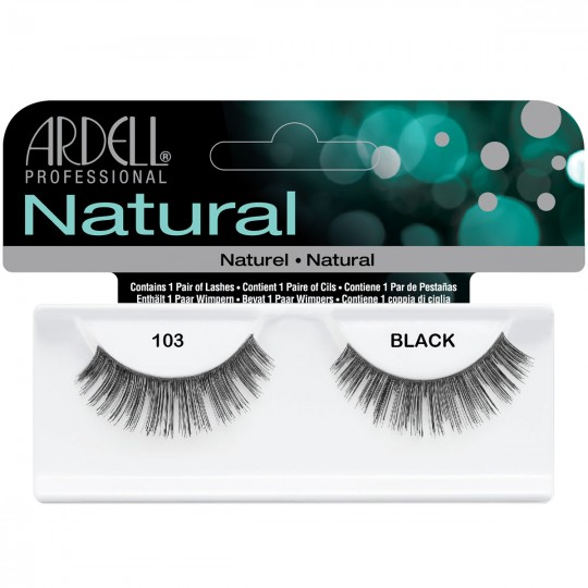 Ardell Natural Lashes - 103 Black