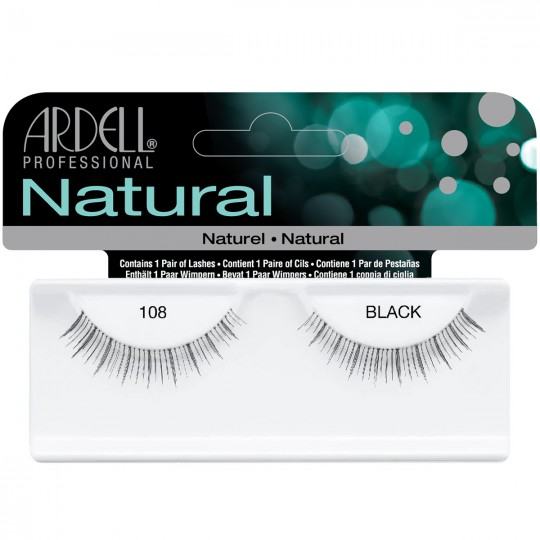Ardell Natural Lashes - 108 Black