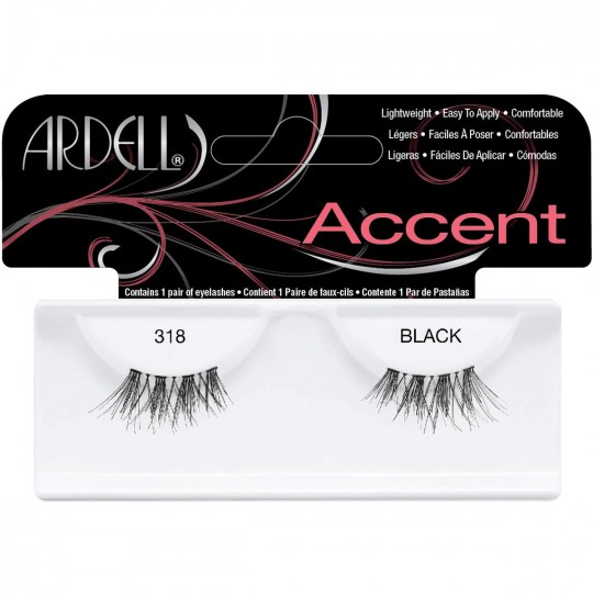 Ardell Accent Lashes - 318 Black