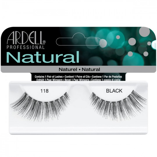 Ardell Natural Lashes - 118 Black