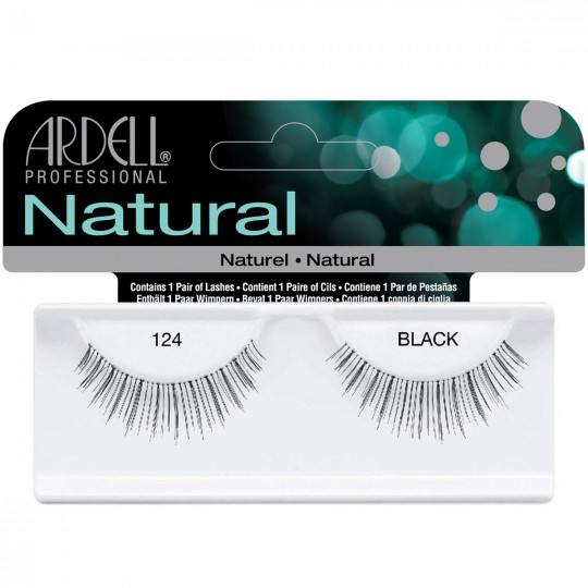 Ardell Natural Lashes - 124 Black