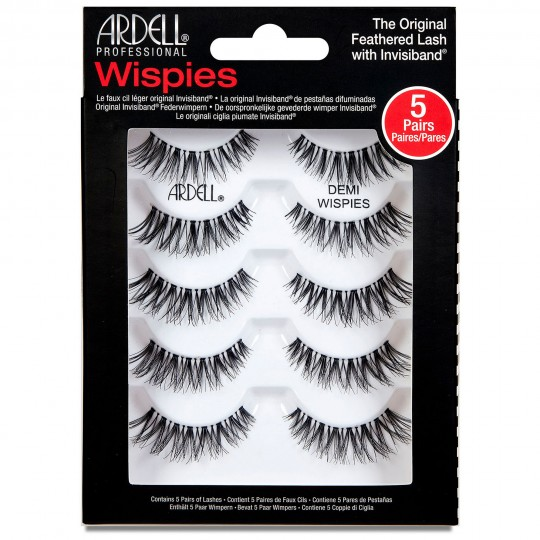 Ardell Wispies Lashes Multipack - Demi Wispies Black (5 Pack)