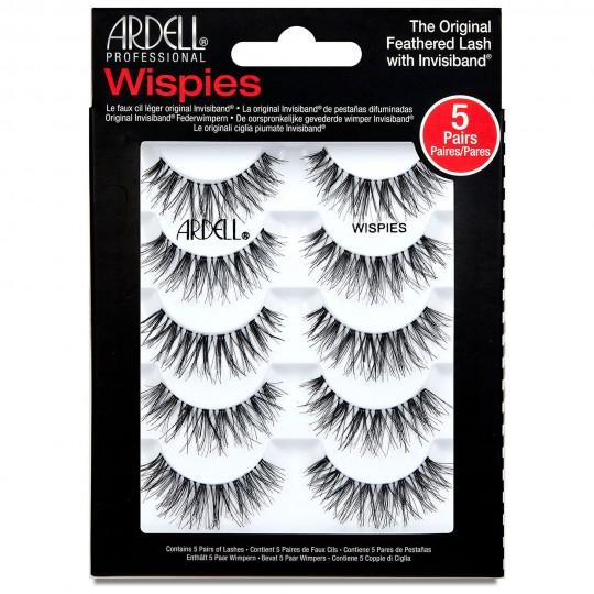 Ardell Wispies Lashes Multipack - Wispies Black (5 Pack)