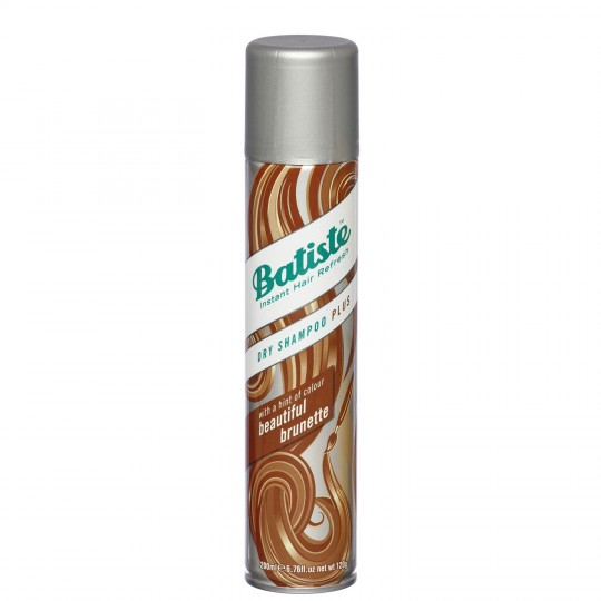 Batiste Dry Shampoo Plus - Beautiful Brunette (200ml)