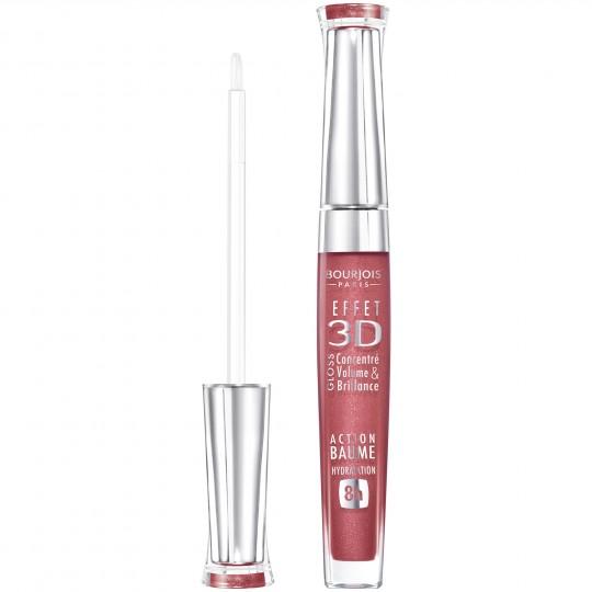 Bourjois Effet 3D Lipgloss - 03 Brun Rose Academic