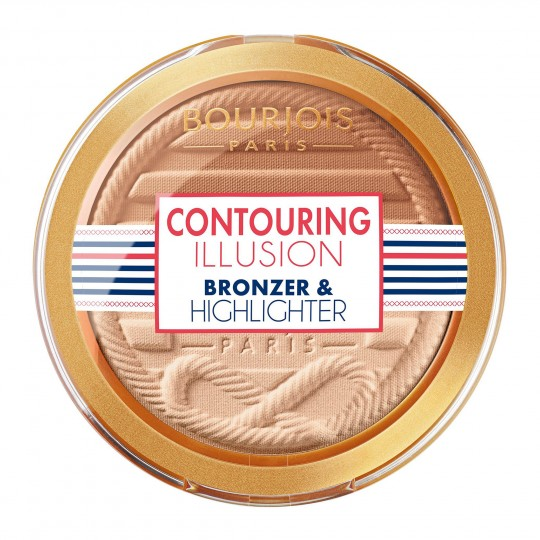 Bourjois Contouring Illusion Bronzer & Highlighter - 23 Contouring Duo