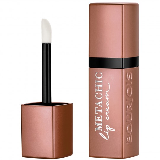 Bourjois Rouge Velvet Metachic Lip Cream - 01 Sand-Sation