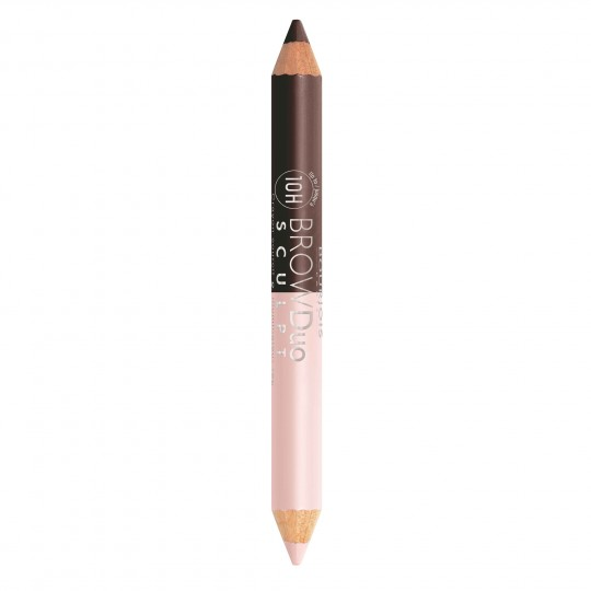 Bourjois Brow Duo Sculpt Pencil & Highlighter - 23 Brown