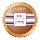 Bourjois Mat Illusion Bronzing Powder - 22 Dark