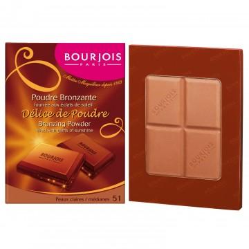 Bourjois Delice de Poudre Bronzing Powder - 51 Light/Median Complexions