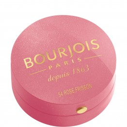 Bourjois Little Round Pot Blush - 54 Rose Frisson (Frosted Rose)