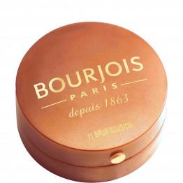 Bourjois Little Round Pot Blush - 11 Brun Illusion (Brown Illusion)