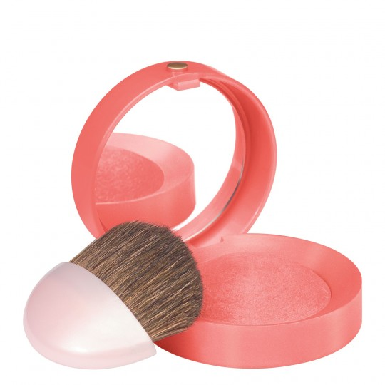 Bourjois Little Round Pot Blush - 43 Corail Tentation (Coral Temptation)