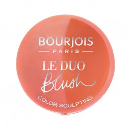 Bourjois Le Duo Blush Sculpt - 02 Romeo Et Peachette