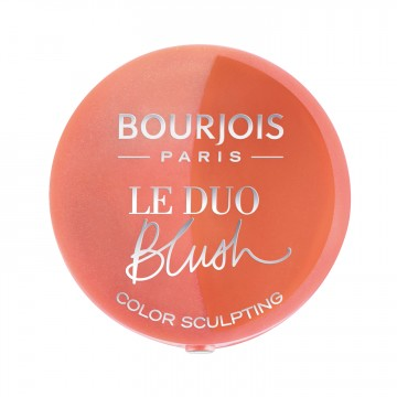 Bourjois Le Duo Blush Sculpt - 02 Romeo Et Peachette