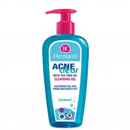 Dermacol Acneclear Make-Up Removal & Cleansing Gel