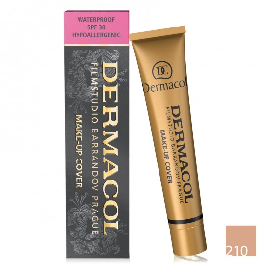 Dermacol Make-up Cover Waterproof Foundation - 210