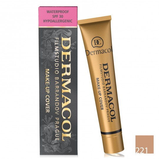 Dermacol Make-up Cover Waterproof Foundation - 221