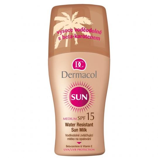 Dermacol Water Resistant Sun Milk Spray SPF 15