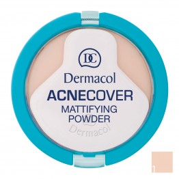 Dermacol Acnecover Mattifying Powder - 1 Porcelain