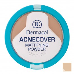 Dermacol Acnecover Mattifying Powder - 4 Honey