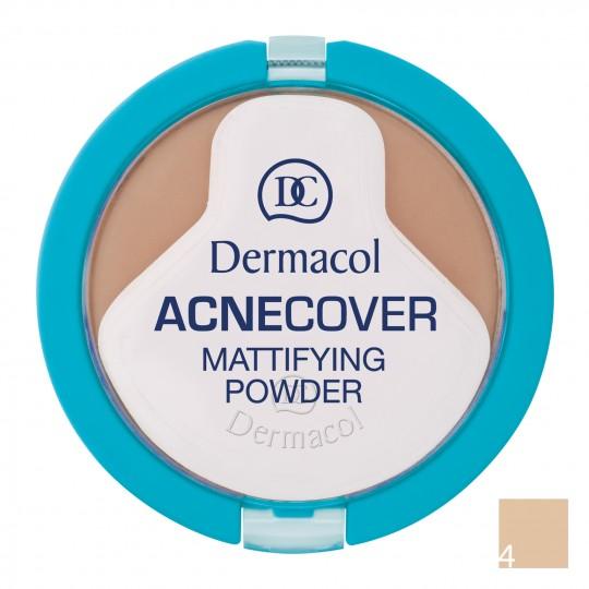 Dermacol Acnecover Mattifying Powder - 4 Honey