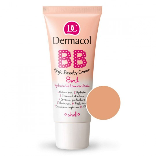 Dermacol BB Magic Beauty Cream 8in1 - 03 Shell