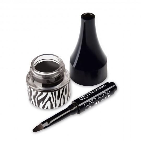 Dermacol Longlasting Gel Black - Black Sensation