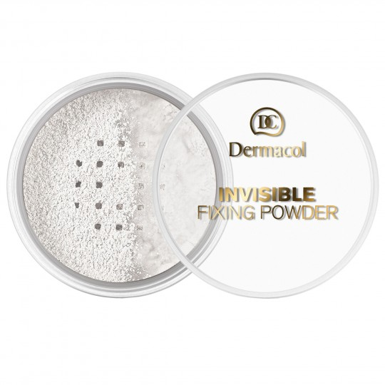 Dermacol Invisible Fixing Powder - White