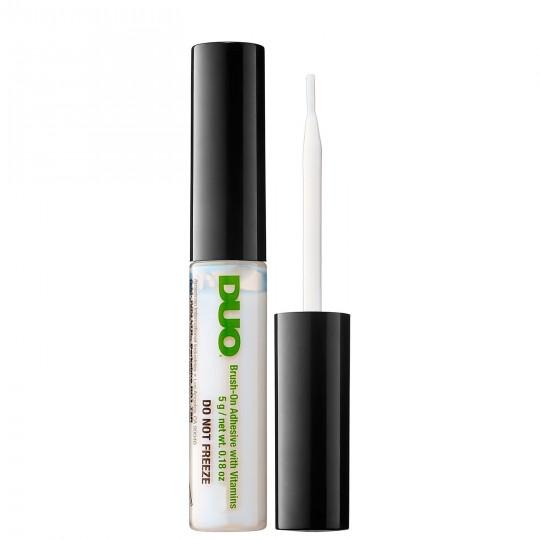 DUO Brush-On Eyelash Adhesive With Vitamins - White/Clear