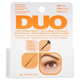 DUO Brush-On Eyelash Adhesive With Vitamins - Dark Tone