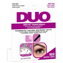 DUO Quick-Set Striplash Adhesive - Dark Tone