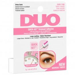 DUO Quick-Set Striplash Adhesive - Dark Tone 7g