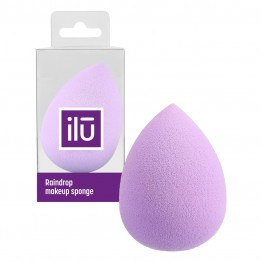 ilu Raindrop Makeup Sponge - Purple