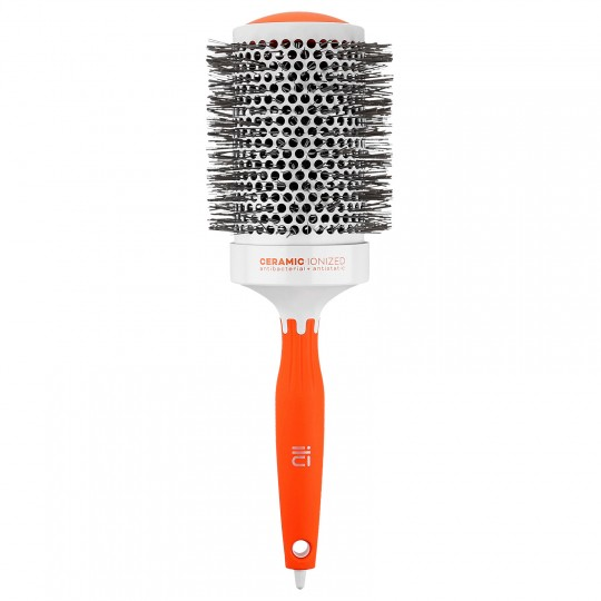 ilu Round Styling Brush - 65mm Orange