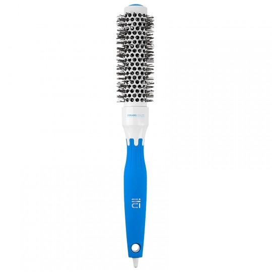 ilu Round Styling Brush - 25mm Blue