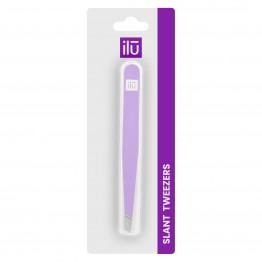 ilu Slant Tweezers - Purple