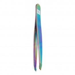 ilu Slant Tweezers - Rainbow